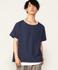 WEGO/【2点セット】アンサンブルシャンブレー半袖プルオーバーシャツ