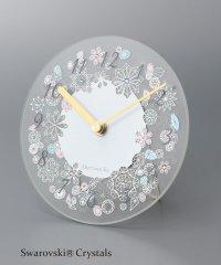 ガラスクロック(掛け置き時計)
