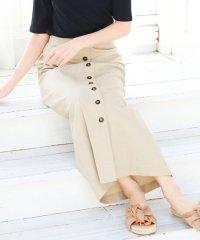フロント釦ナロースカート