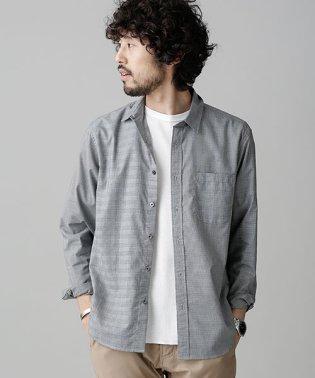 クレイジーチェックワイドシャツ