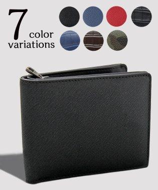 【REGiSTA/レジスタ】型押しPUレザービルフォードウォレット/二つ折り財布