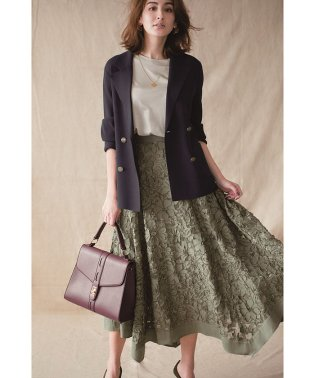 【Marisol10月号掲載】刺繍レースアシメスカート