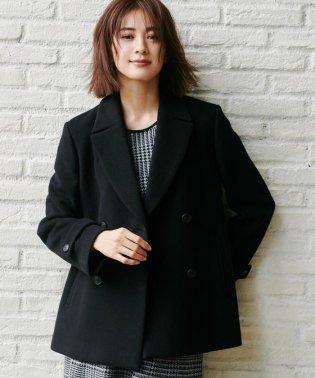 【マガジン掲載】MENCHI ウールビーバーダブル前コート(検索番号R33)