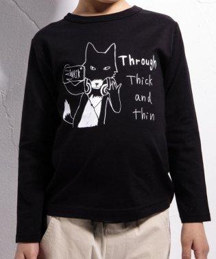 手描きアニマルプリントTシャツ(110cm~130cm)