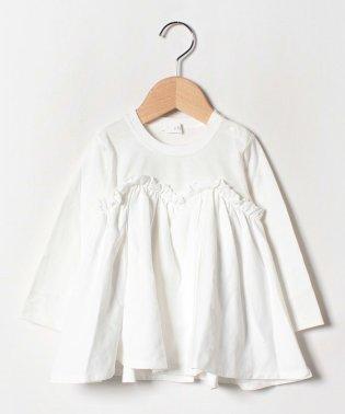 キャミレイヤード風長袖Tシャツ