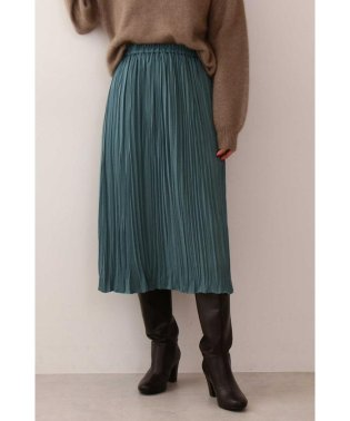 |CanCam 11月号掲載|《EDIT COLOGNE》ランダムプリーツサテンスカート◆