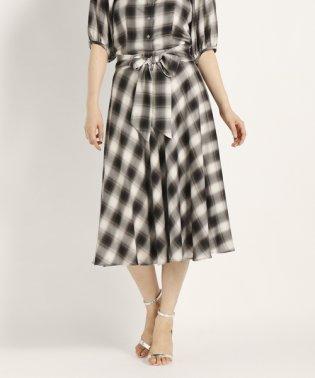 【セットアップ対応商品】GINZAチェック スカート