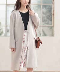 ★【MAGASEEK/d fashion限定カラー】Vカラーゆるコート