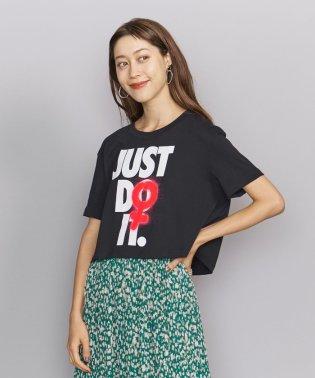 <NIKE(ナイキ)>JUST DO IT クロップドTシャツ