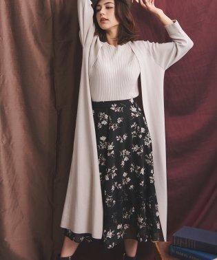 【美人百花11月号掲載】ぼかしレースMIXスカート