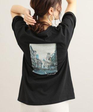 フロントロゴバックプリントTシャツ
