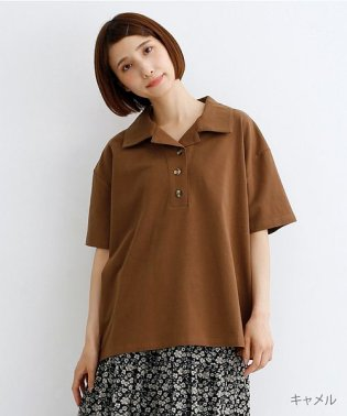 半袖開襟ポロシャツ