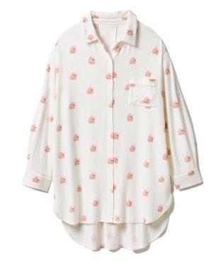 アイスモチーフシャツドレス