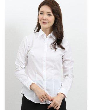 形態安定レギュラーカラー ブロード長袖シャツ