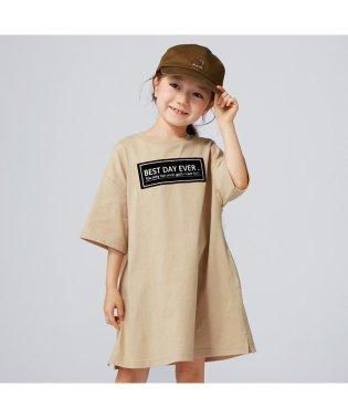 ボックスロゴTシャツワンピース