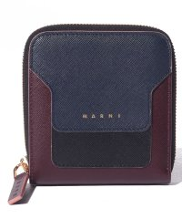 【MARNI】2つ折り財布/VANITOSI【NIGHT BLUE+BLACK+WINE】