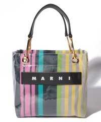 【MARNI】トートバッグ/SMALL SQUARE GRIP BAG HOOKS【PINK CANDY】