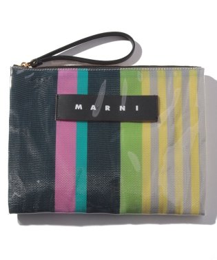 【MARNI】ポーチ/A4 LARGE POCHETTE DOUBLE FACE SLG【PINK CANDY】