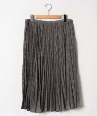 【大きいサイズ】【セットアップ対応】モナリザグレンチェックプリント プリーツスカート