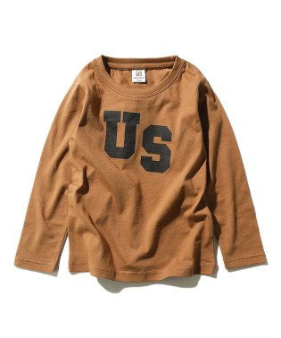 キッズ 子供服 デビラボ ロゴプリント Tシャツ 男の子 女の子