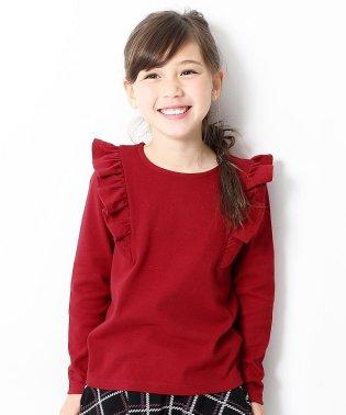 キッズ 子供服 ガールズデザイン長袖Tシャツ 女の子