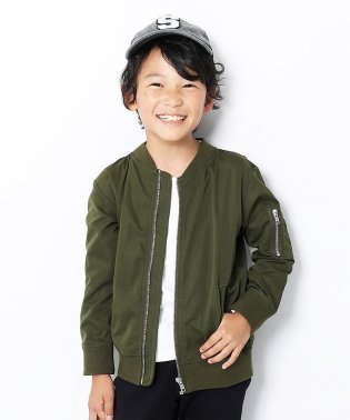キッズ 子供服 ライトMA-1ジャケット 男の子 女の子