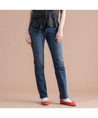 501(R) JEANS FOR WOMEN BLUE BOOTS