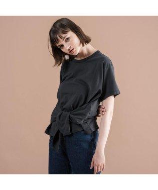LASSO Tシャツ JET BLACK