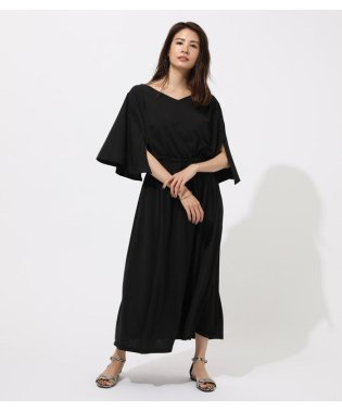 ESPANDY FLARE SLEEVE DRESS
