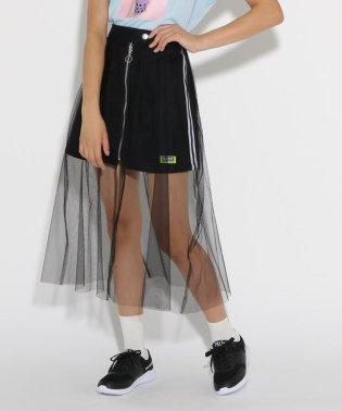 ★ニコラ掲載★チュール重ね台形 スカート
