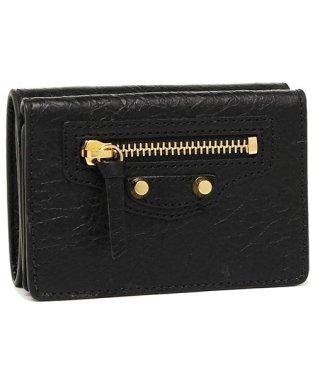 バレンシアガ 折財布 レディース BALENCIAGA 477455 D940G 1000 ブラック