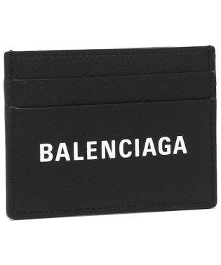 バレンシアガ カードケース メンズ レディース BALENCIAGA 490620 DLQ4N 1000 ブラック