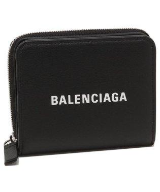 バレンシアガ 折財布 レディース BALENCIAGA 551933 DLQ4N 1000 ブラック