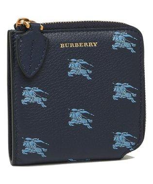 バーバリー コインケース メンズ レディース BURBERRY 8006559 A1250 ブルー マルチ
