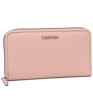 カルバンクライン 長財布 アウトレット レディース メンズ CALVIN KLEIN 37408795 661 ピンク
