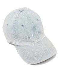 カルバンクライン キャップ アウトレット メンズ レディース CALVIN KLEIN 45003020 474 デニム アイスブルー