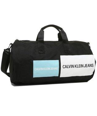 カルバンクライン ボストンバッグ アウトレット メンズ レディース CALVIN KLEIN 46301668 400 ブラックマルチ