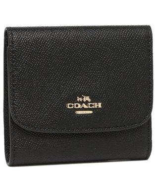 コーチ 三つ折り財布 アウトレット レディース COACH F87588 IMBLK ブラック