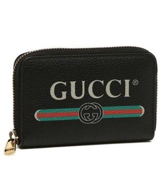 グッチ コインケース メンズ レディース GUCCI 496319 0GCAT 8163 Credit Card Case ブラック