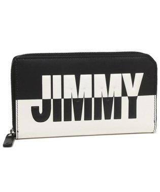 ジミーチュウ 長財布 メンズ JIMMY CHOO CARNABY BBM ブラック ホワイト