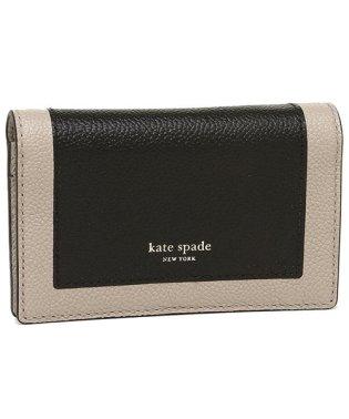 ケイトスペード カードケース キーリング コインケース レディース KATE SPADE PWRU7157 106 ブラックマルチ