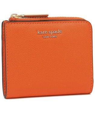 ケイトスペード 折財布 レディース KATE SPADE PWRU7250 805 オレンジ