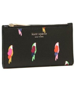 ケイトスペード 折財布 レディース KATE SPADE PWRU7351 098 ブラックマルチ