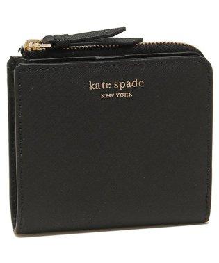 ケイトスペード 折財布 アウトレット レディース KATE SPADE WLRU5431 001 ブラック