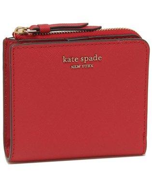 ケイトスペード 折財布 アウトレット レディース KATE SPADE WLRU5431 611 レッド