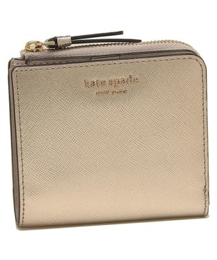 ケイトスペード 折財布 アウトレット レディース KATE SPADE WLRU5431 977 ピンクゴールド