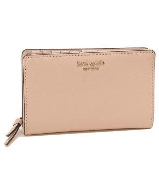 ケイトスペード 折財布 アウトレット レディース KATE SPADE WLRU5440 265 ピンク
