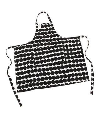 マリメッコ エプロン MARIMEKKO 067316 190 ホワイト ブラック