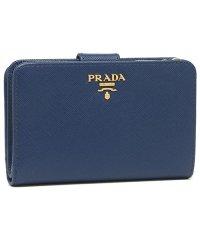 プラダ 折財布 レディース PRADA 1ML225 QWA F0016 ブルー