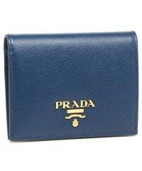プラダ 折財布 レディース PRADA 1MV204 QWA F0016 ブルー